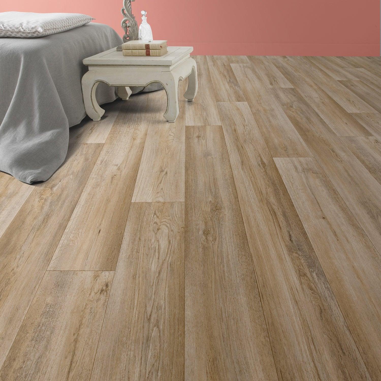 sol pvc effet ch ne clair silk oak aero l 4 m leroy merlin. Black Bedroom Furniture Sets. Home Design Ideas