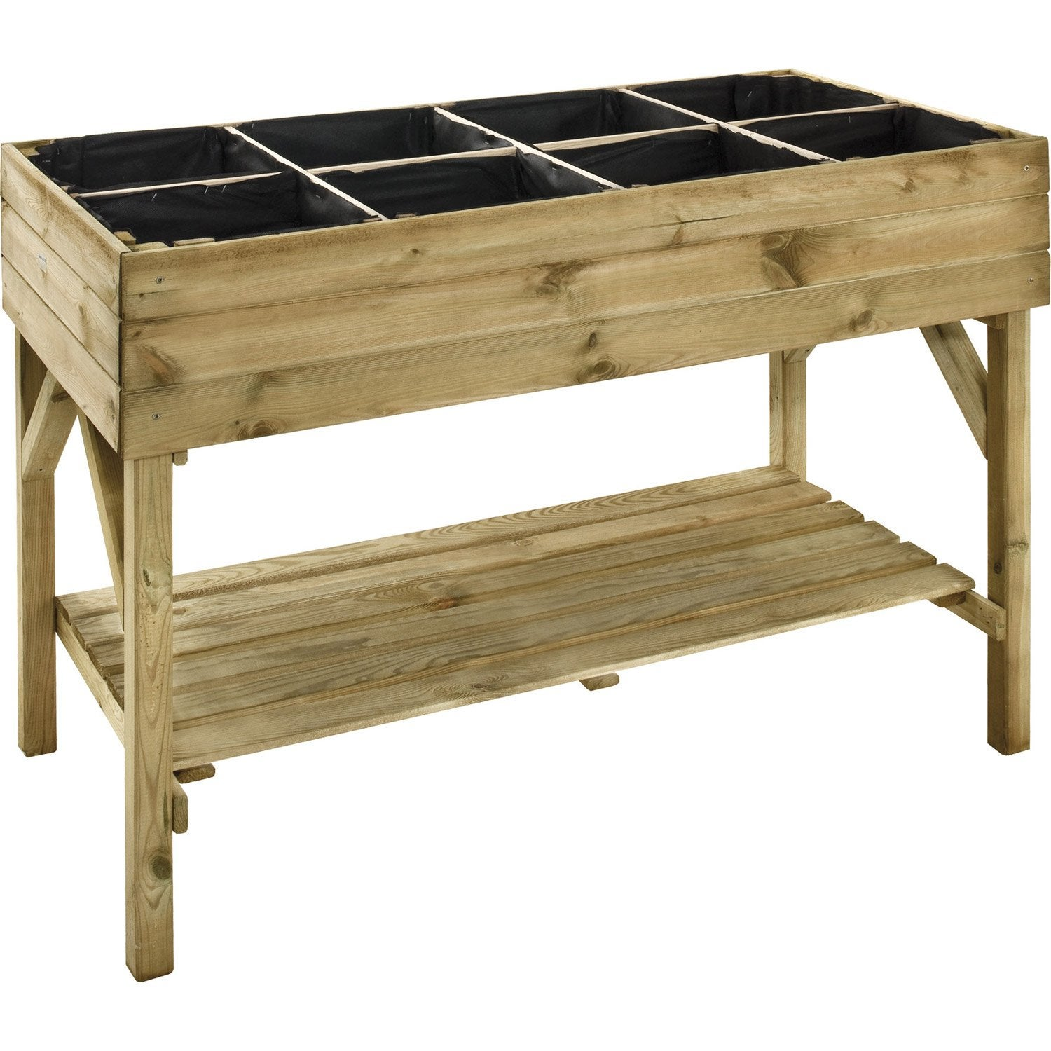 potager sur pieds gariguette x x cm leroy merlin. Black Bedroom Furniture Sets. Home Design Ideas