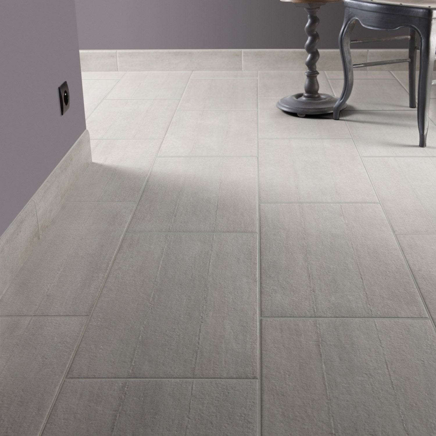 Carrelage imitation teck gris id e for Carrelage exterieur bleu