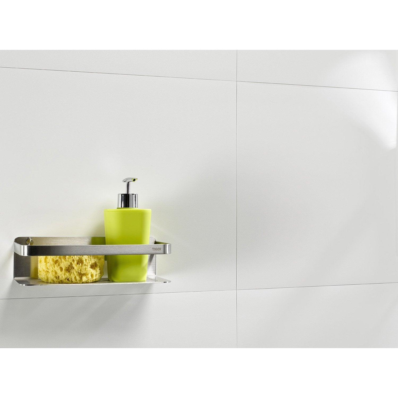 Dalle murale pvc blanc dumaplast carro x cm x ep 4 mm leroy me - Dalle pvc pour cuisine ...