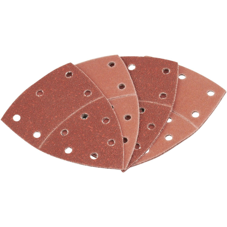 lot de 10 feuilles abrasives bosch 102 x 62 mm leroy merlin. Black Bedroom Furniture Sets. Home Design Ideas