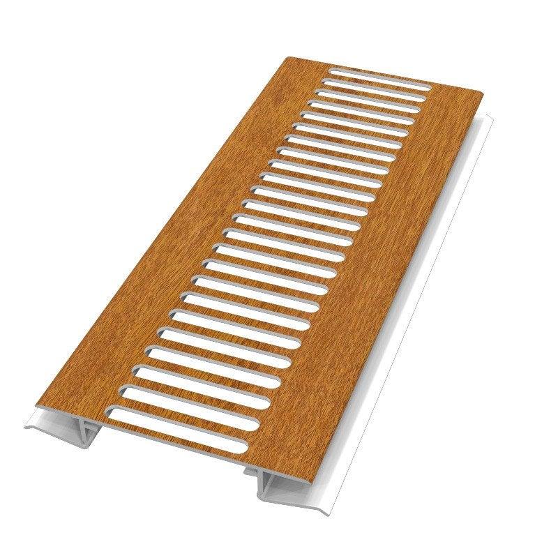 Grille de ventilation pvc freefoam ch ne 3 m leroy merlin for Grille ventilation fenetre pvc
