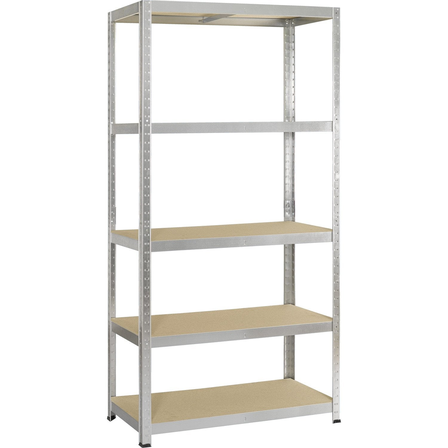 Etag re acier avasco strong 5 tablettes galva x h - Etagere modulable leroy merlin ...