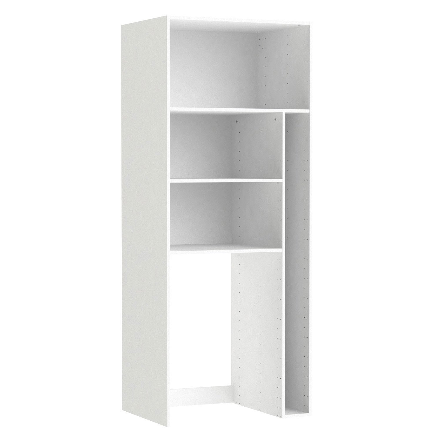 Caisson buanderie SPACEO Home 200 x 80 x 60 cm, blanc | Leroy Merlin
