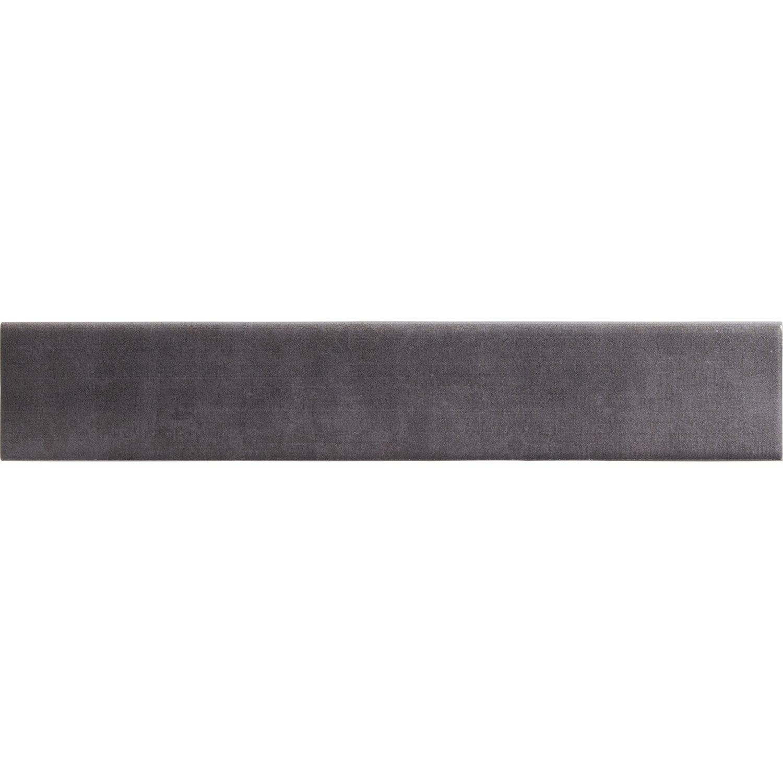 lot de 4 plinthes camben gris l 8 x cm leroy merlin. Black Bedroom Furniture Sets. Home Design Ideas