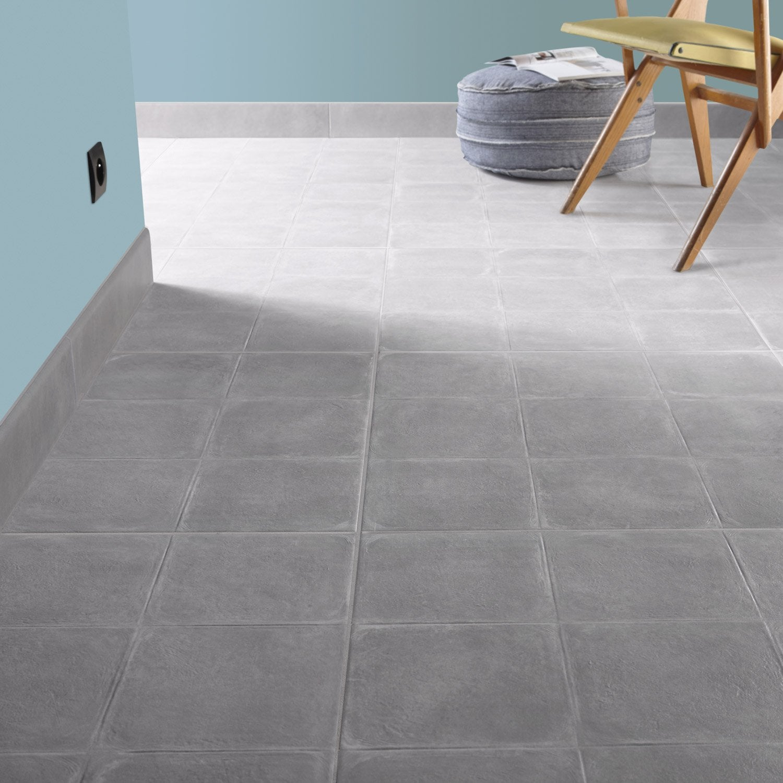 Carrelage sol et mur perle effet b ton cosy x cm for Carrelage 100x100 exterieur