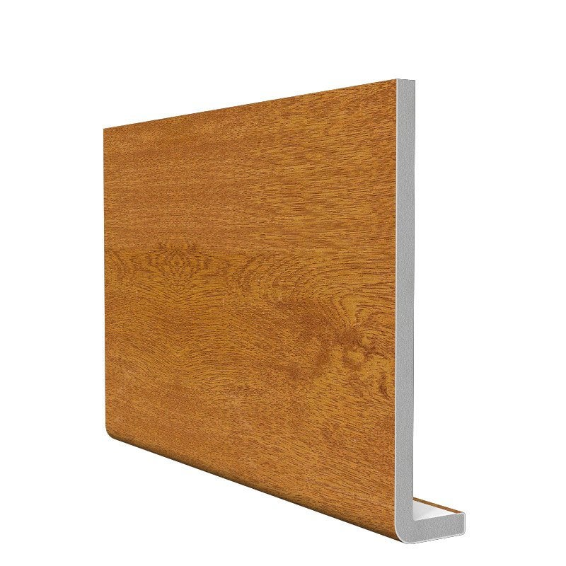 Bandeau de rive de toiture ch ne pvc l 3 m x mm for Bardage bois composite leroy merlin