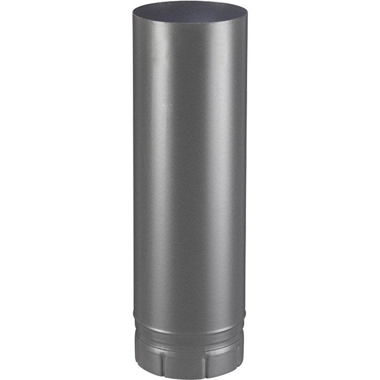 tuyau maill gris diam tre 180 mm long 50 cm poujoulat leroy merlin. Black Bedroom Furniture Sets. Home Design Ideas