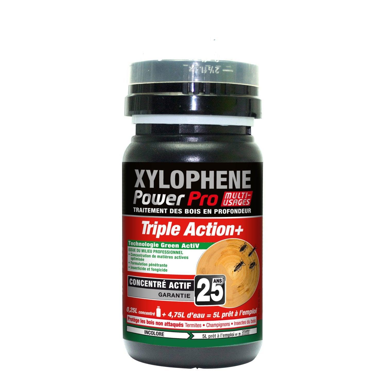 Traitement bois pour multi usages xylophene power pro l leroy merlin - Xylophene leroy merlin ...