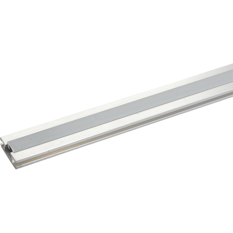 rail aluminium pour portes coulissantes hettich leroy merlin. Black Bedroom Furniture Sets. Home Design Ideas