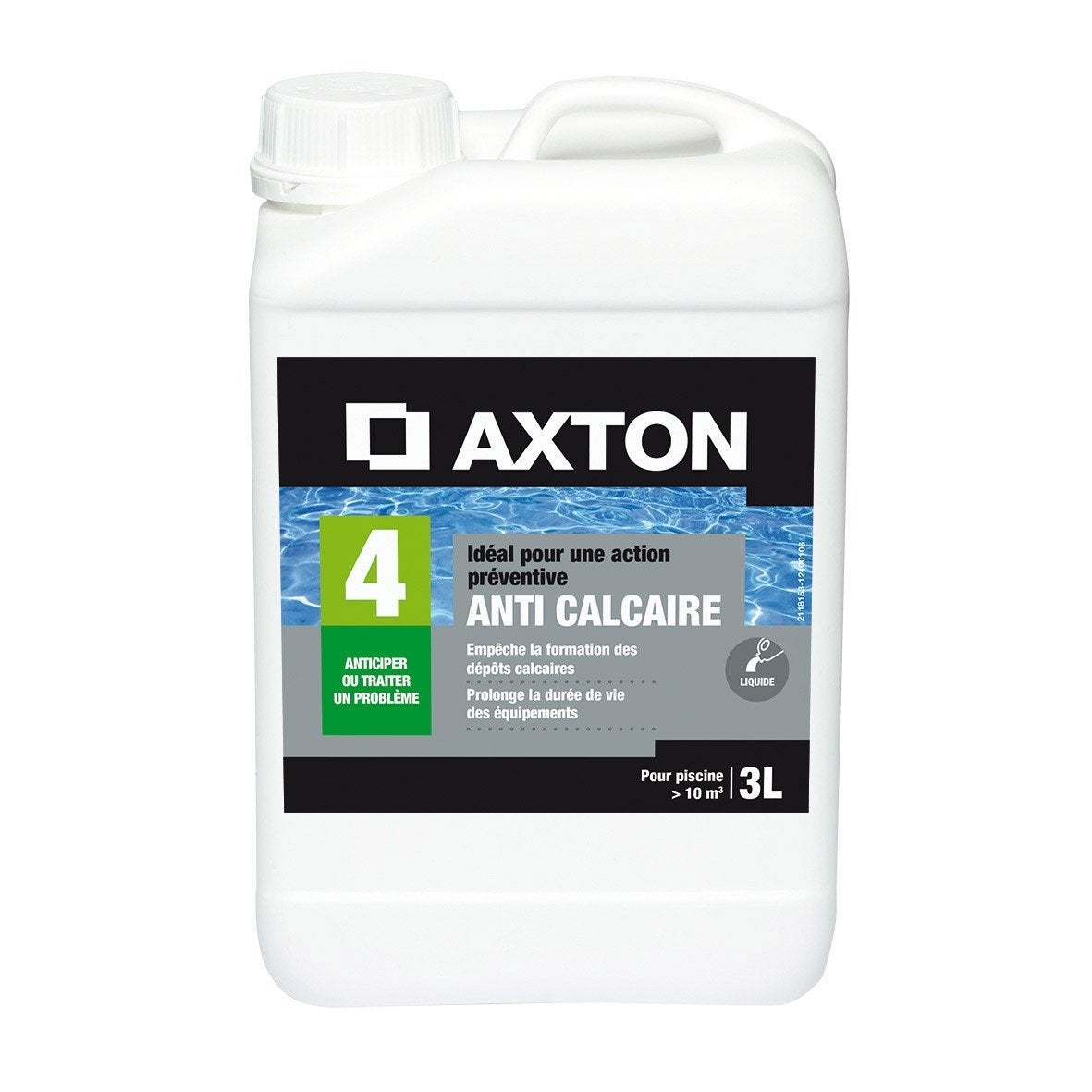 anticalcaire piscine axton liquide 3 l 3 kg leroy merlin. Black Bedroom Furniture Sets. Home Design Ideas