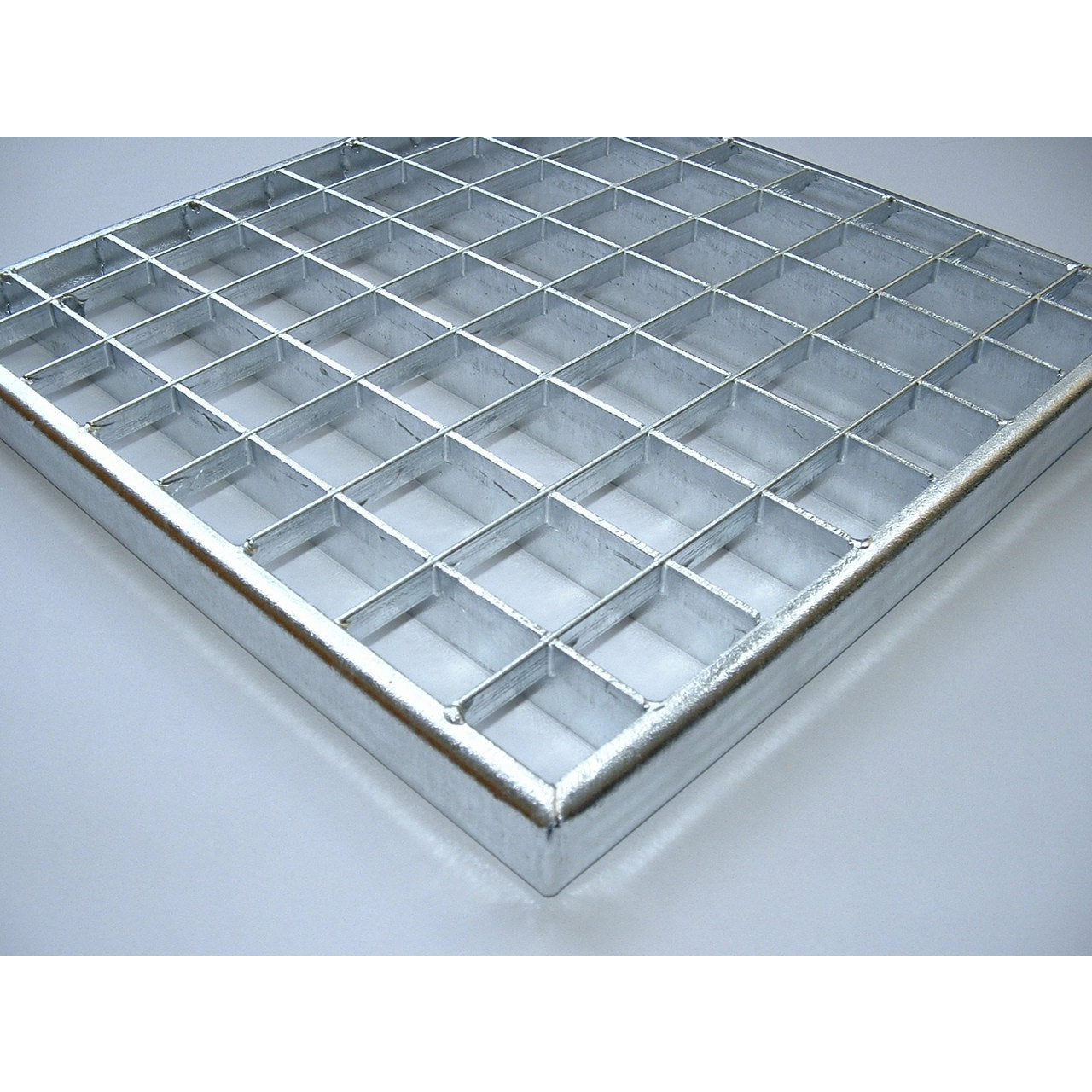 grille caillebotis acier galvanis x cm mea leroy merlin. Black Bedroom Furniture Sets. Home Design Ideas