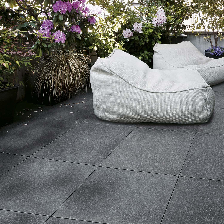 dalle gr s c rame pleine masse siena gris x cm x mm leroy merlin. Black Bedroom Furniture Sets. Home Design Ideas
