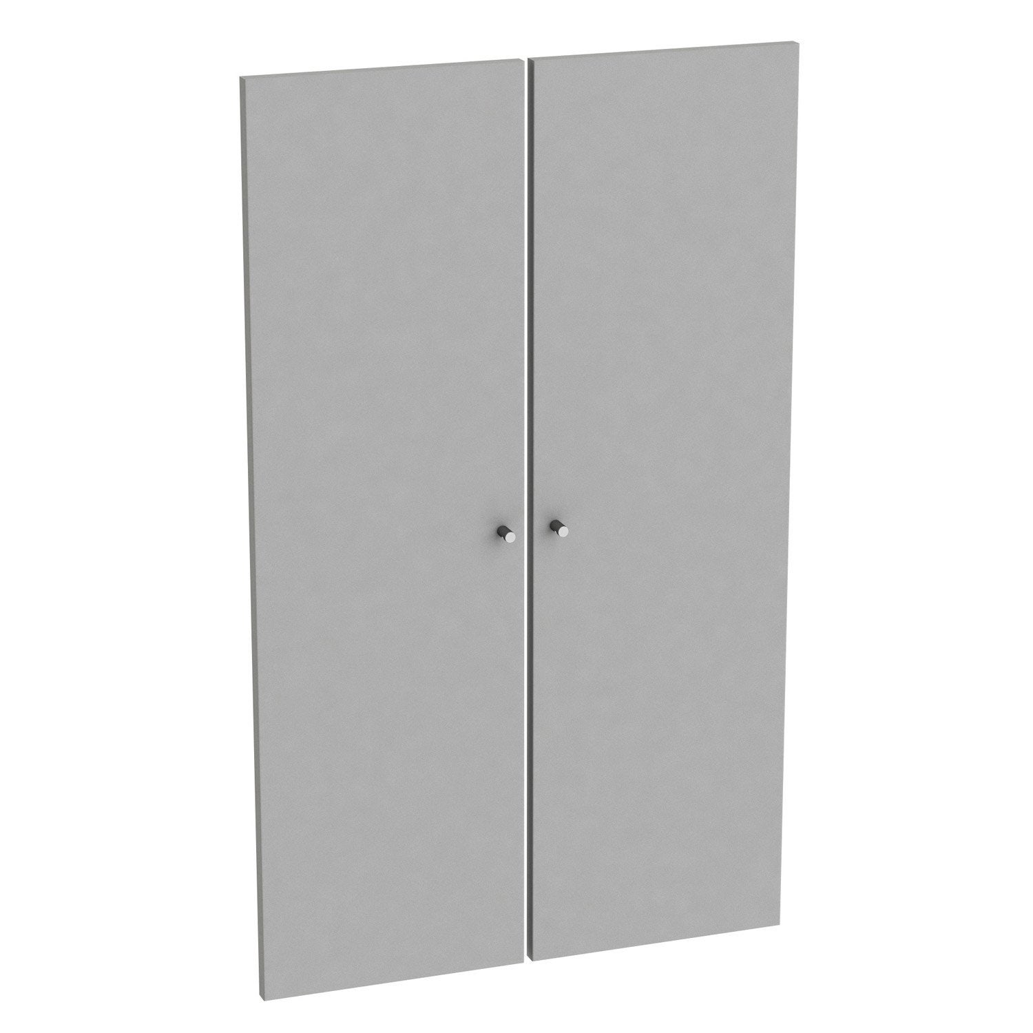 Lot de 2 portes battantes spaceo home 100 x 30 x 1 6 cm for Porte 60 x 30