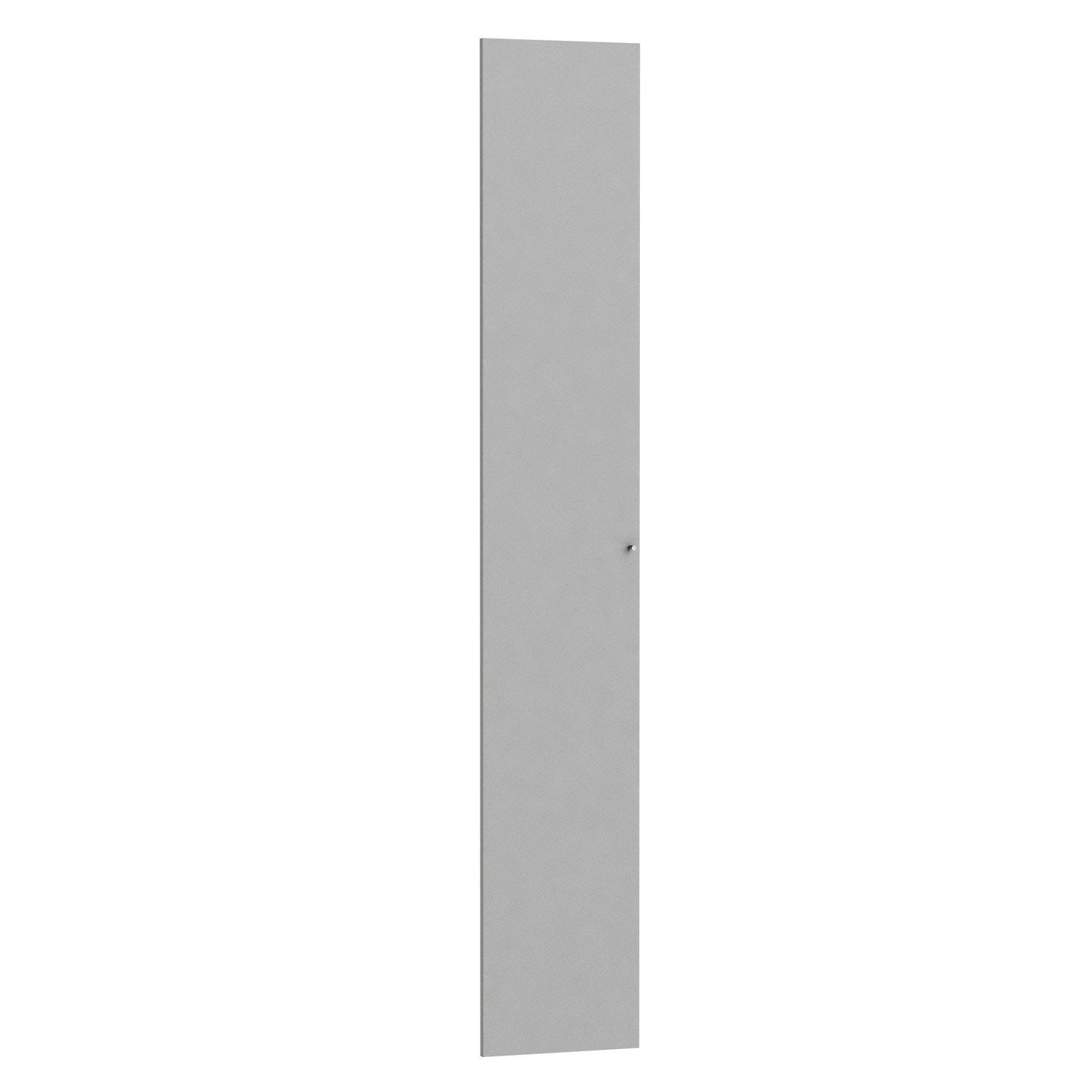 Porte battante spaceo home 240 x 40 x 1 6 cm anthracite - Porte battante leroy merlin ...