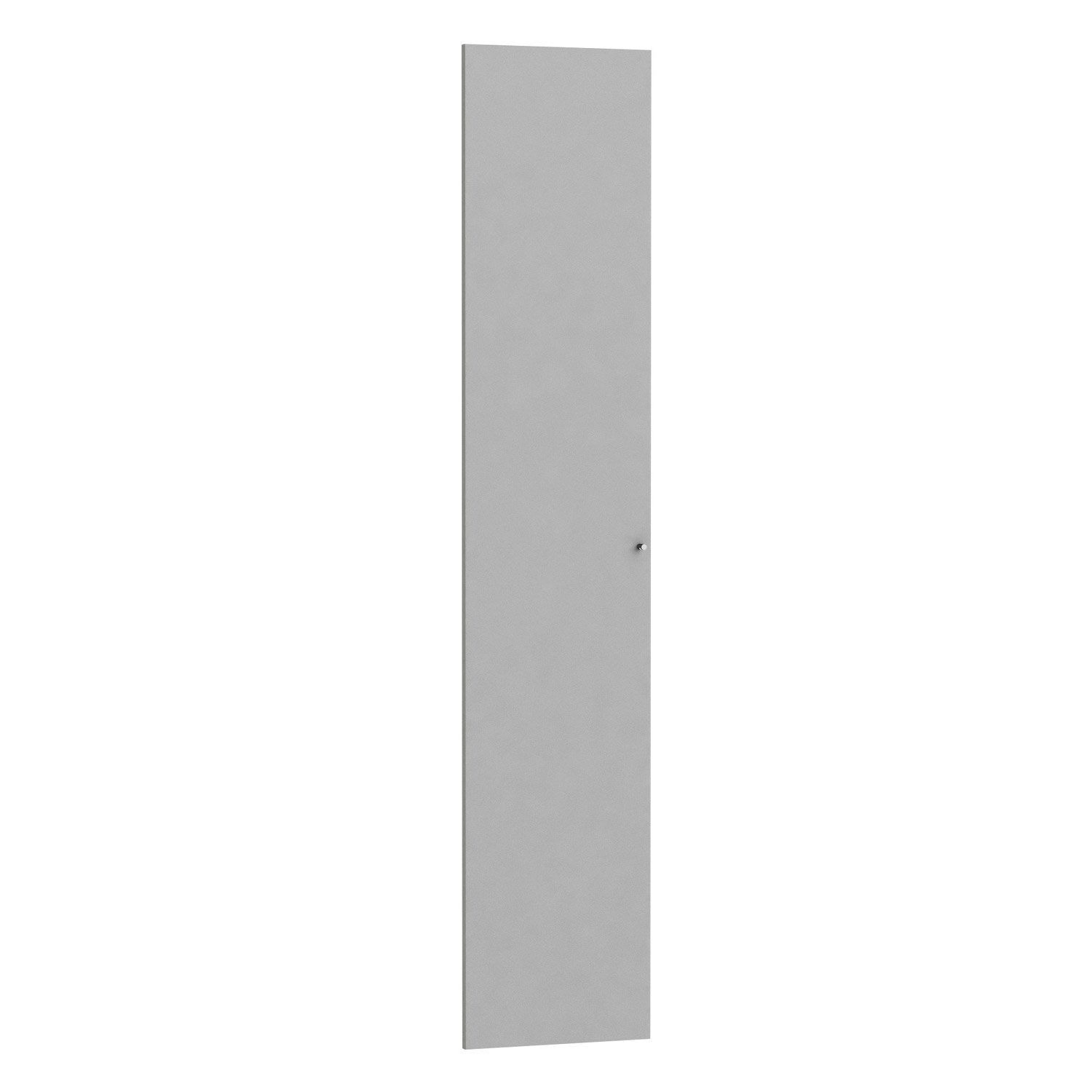 Porte battante spaceo home 200 x 40 x 1 6 cm anthracite - Porte battante leroy merlin ...