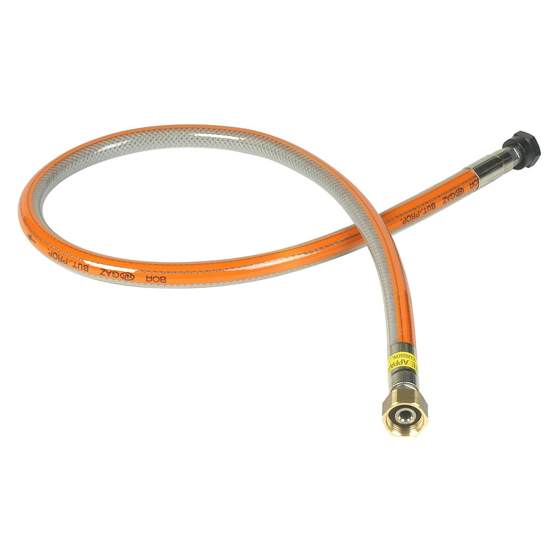 Flexible de raccordement inox pour gaz butane propane - Injecteur gaz butane leroy merlin ...