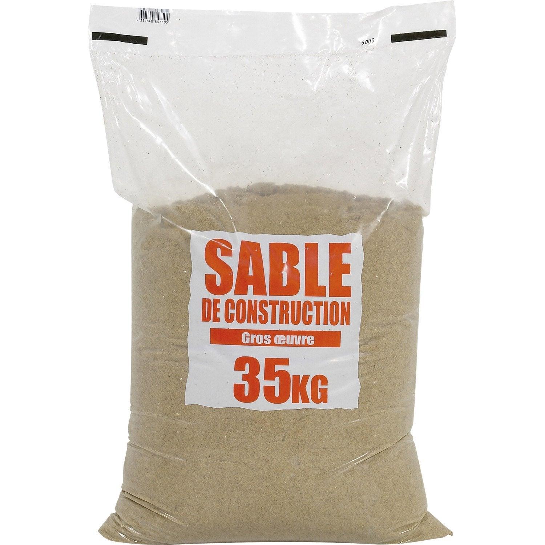 sac de sable 35 kg leroy merlin. Black Bedroom Furniture Sets. Home Design Ideas