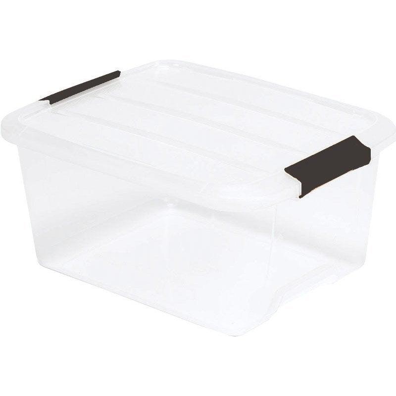 Bo te de rangement top box en plastique l 29 x p 39 x h - Boite rangement leroy merlin ...