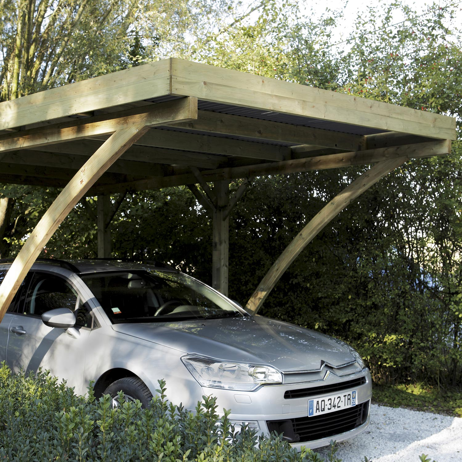 carport en bois burger. Black Bedroom Furniture Sets. Home Design Ideas