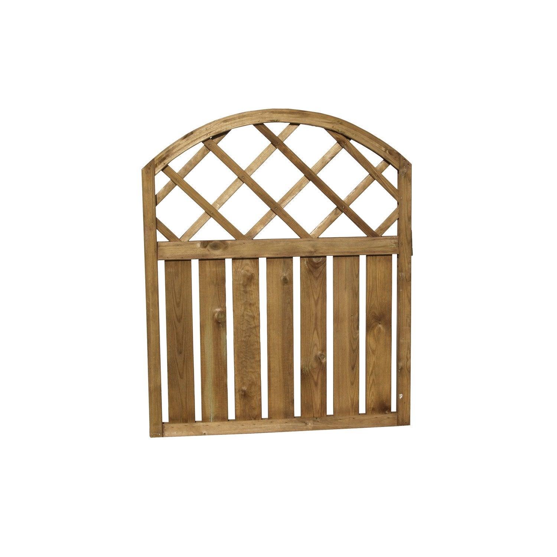 Barrire En Bois Leroy Merlin Best Barriere Terrasse Jardin  ~ Barriere En Bois Pour Jardin Leroy Merlin