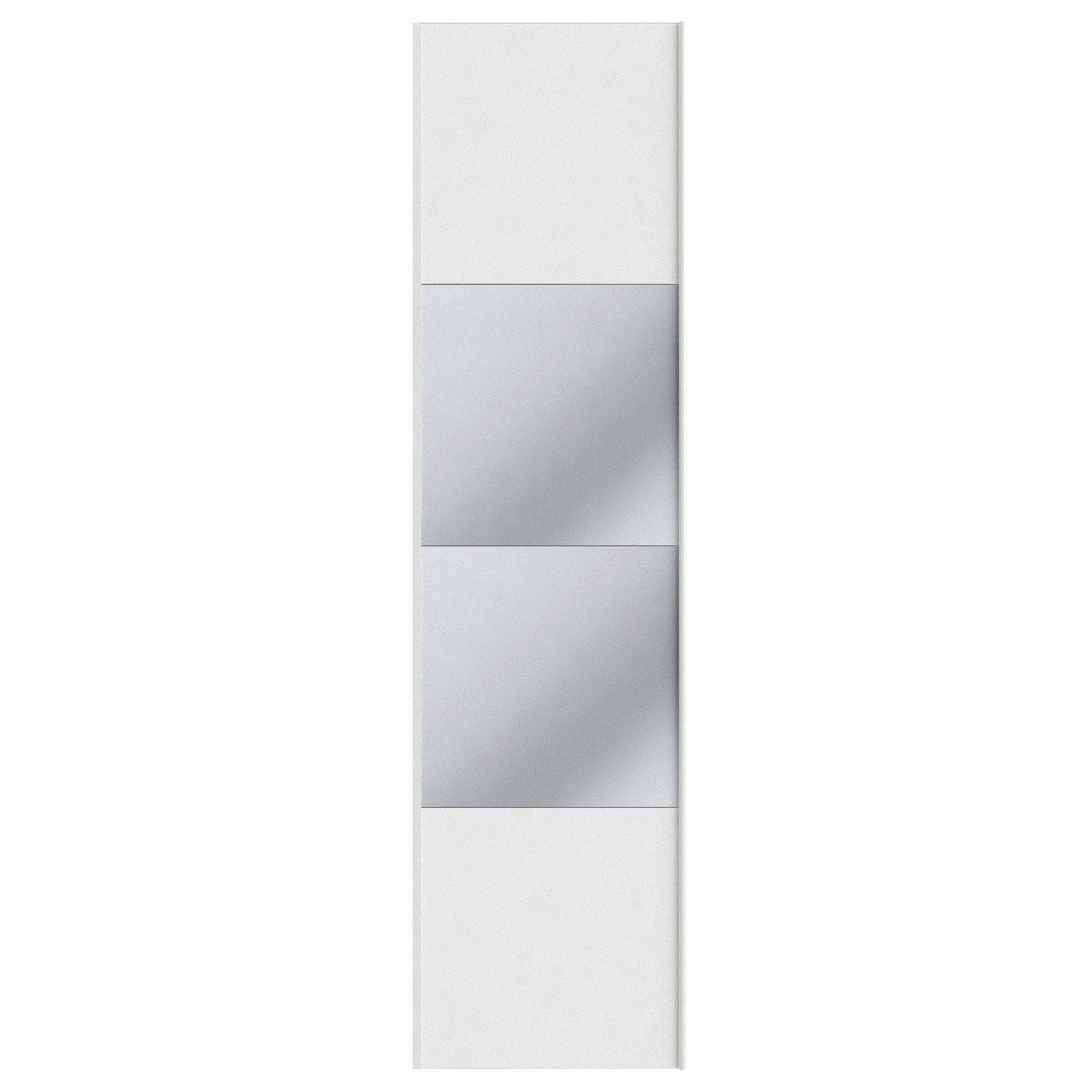 Portes Coulissantes Spaceo Home 240 X 60 X 1 6 Cm Blanc