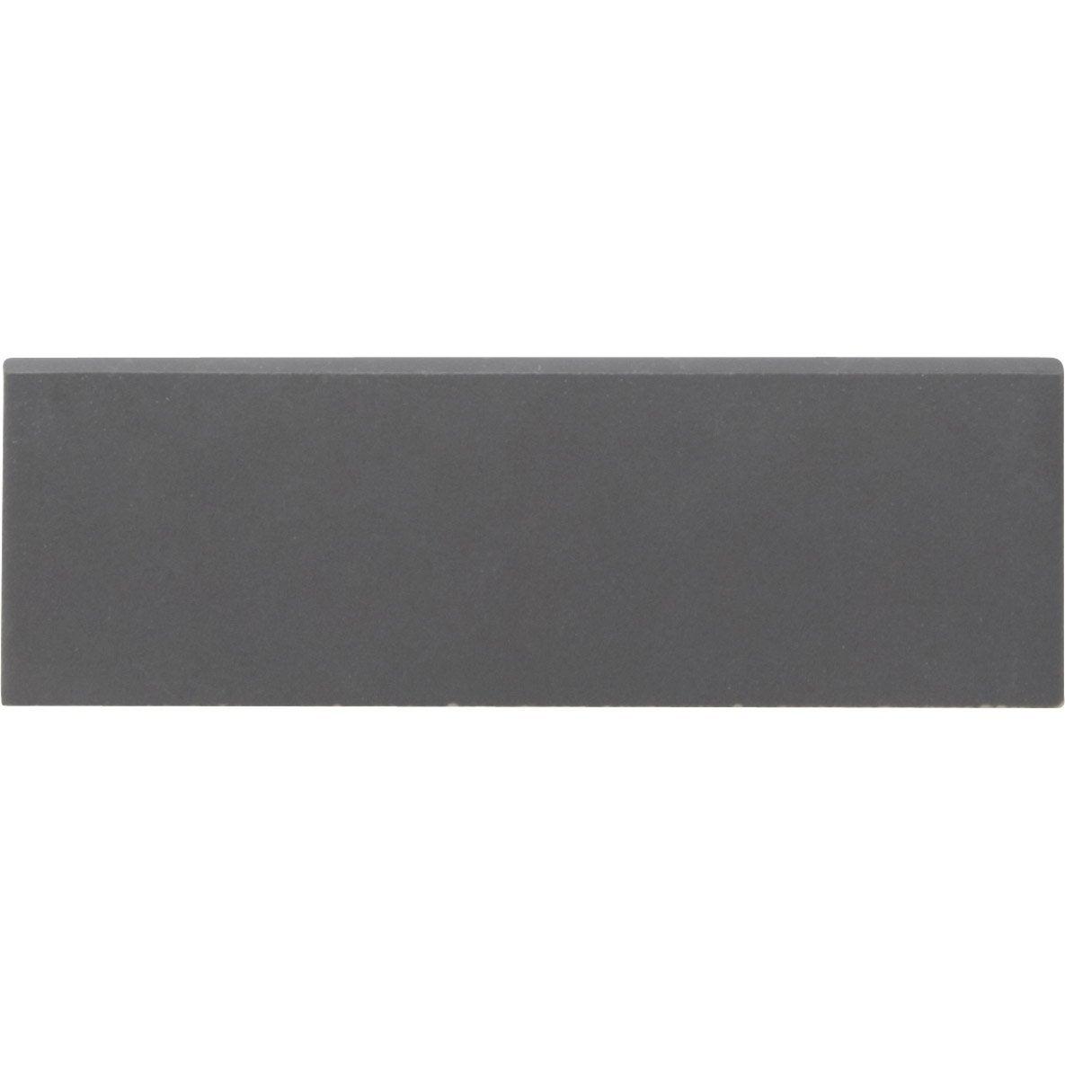 Lot de 6 plinthes gatsby noir l 6 5 x cm leroy merlin - Leroy merlin frise carrelage ...