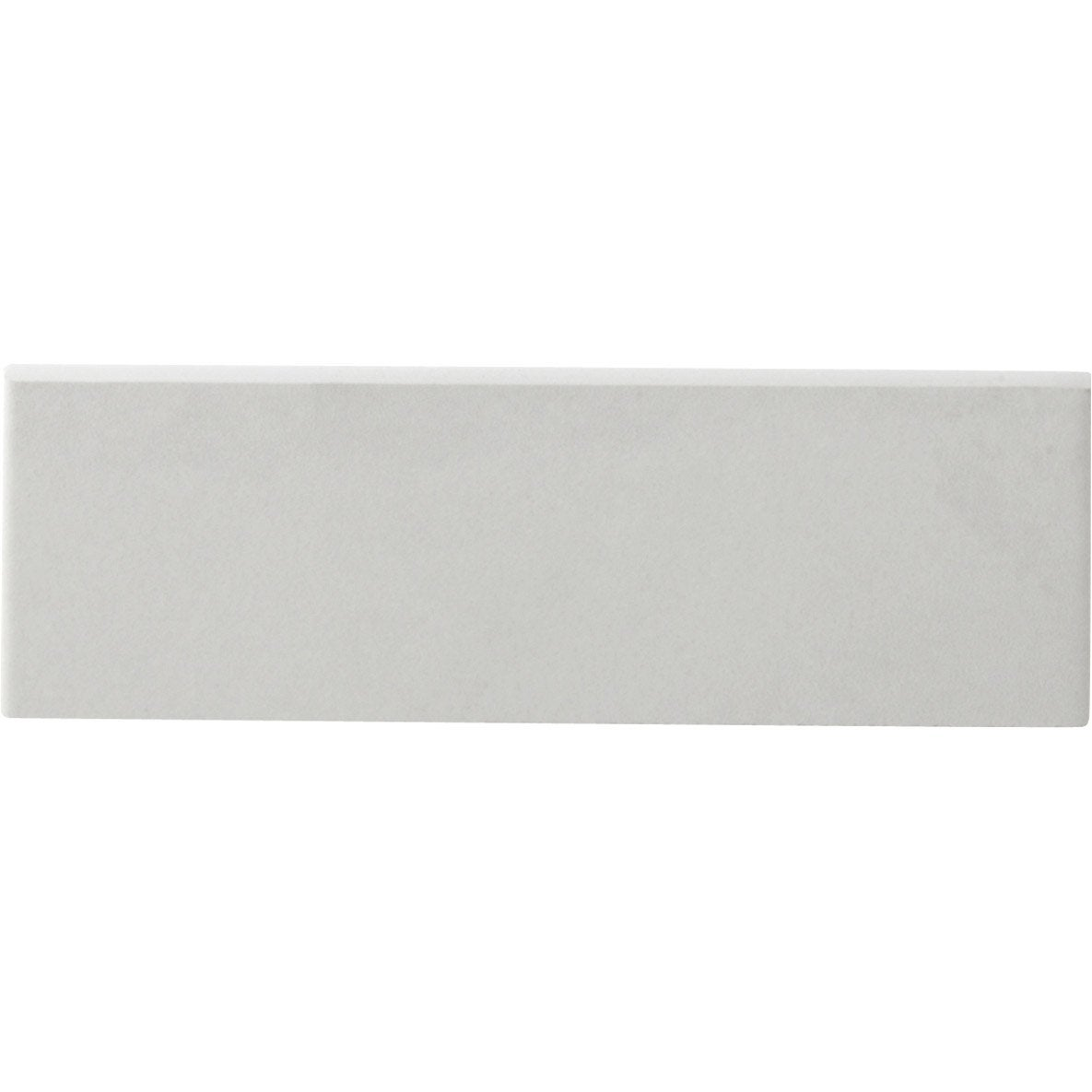 Lot de 6 plinthes gatsby blanc l 6 5 x cm leroy merlin for Carrelage 5 cm