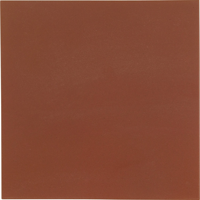 Carrelage sol et mur rouge effet uni archi x cm for Carrelage rouge