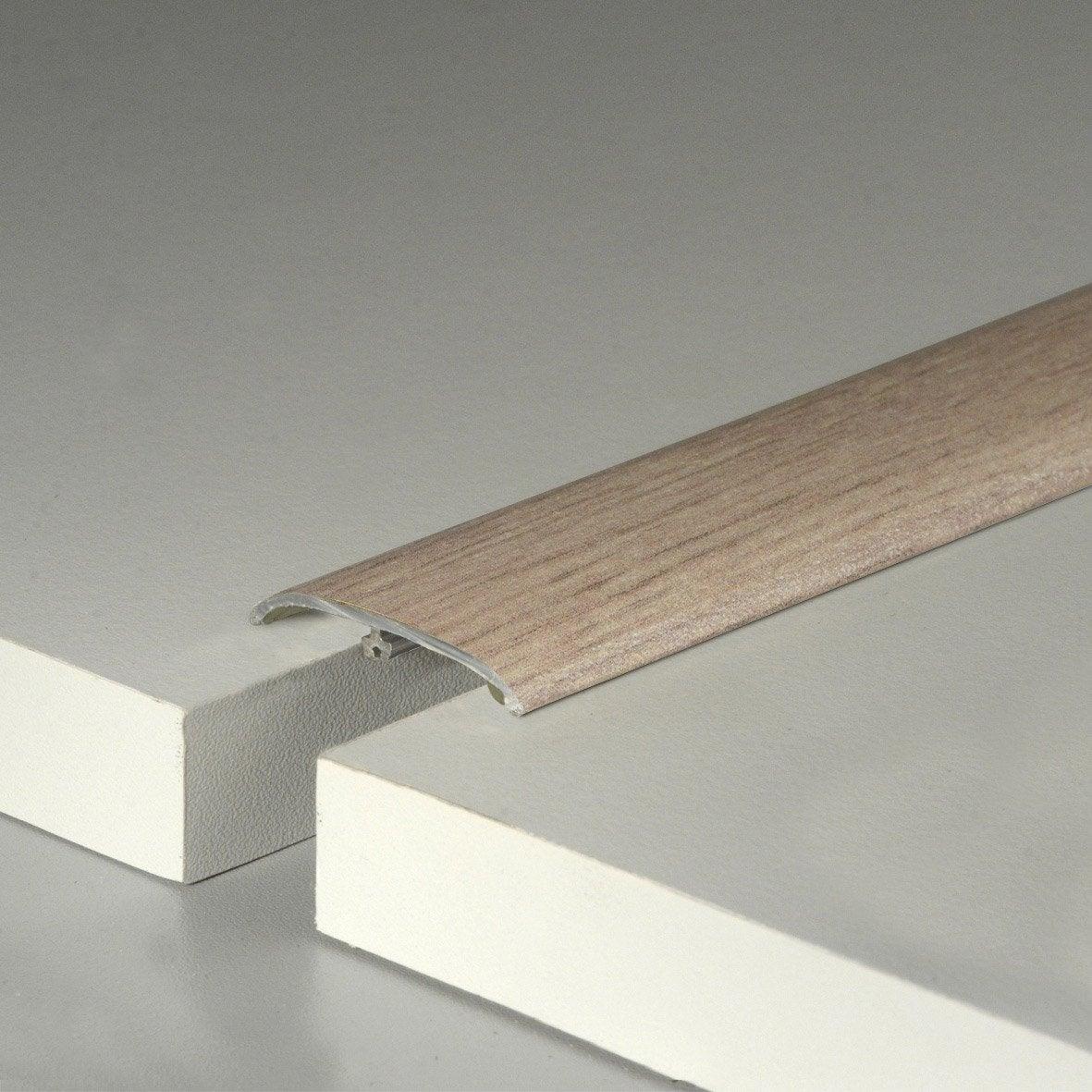 barre de seuil pour sol stratifi vicence cm x mm leroy merlin. Black Bedroom Furniture Sets. Home Design Ideas