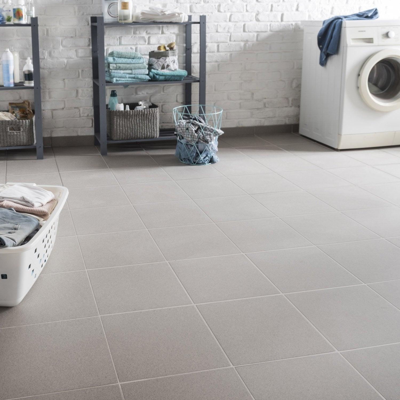 Carrelage sol et mur gris effet b ton belfast x for Carrelage 30x30