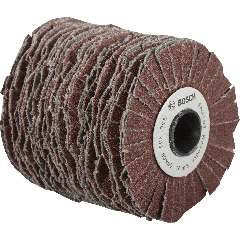 rouleau flexible abrasif bosch 60 mm grains 80 leroy merlin. Black Bedroom Furniture Sets. Home Design Ideas