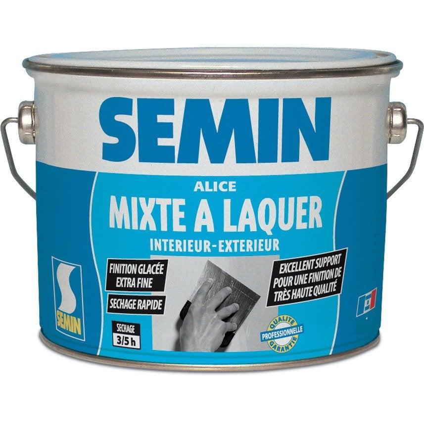 enduit gras laquer p te alice semin 1 kg leroy merlin. Black Bedroom Furniture Sets. Home Design Ideas