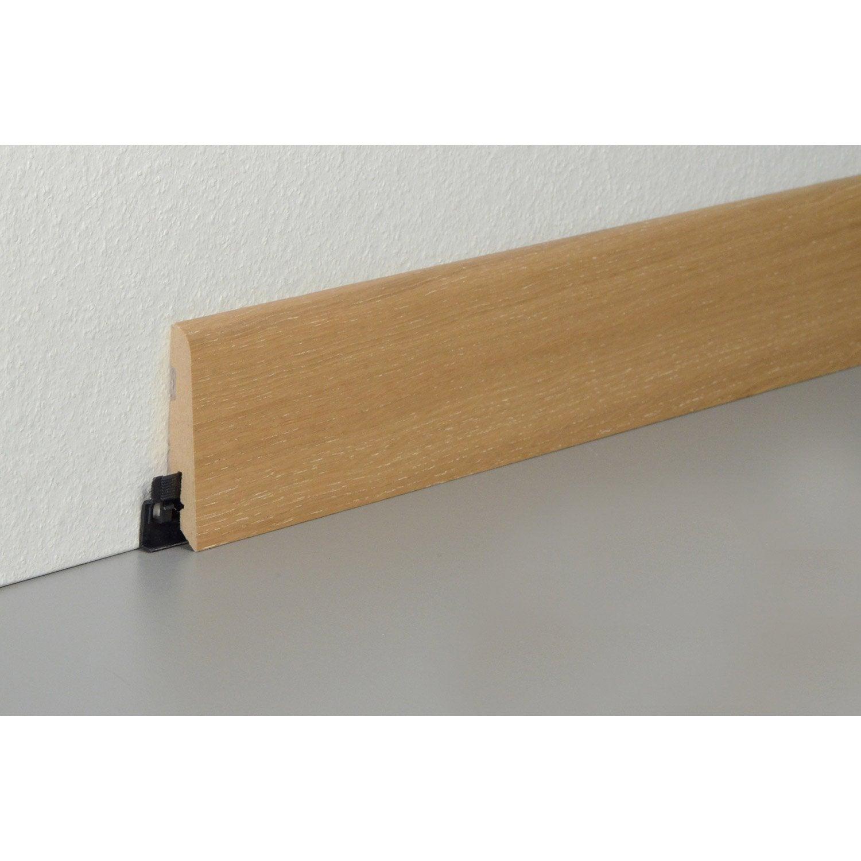 plinthe parquet plaqu e ch ne caramel cm x x. Black Bedroom Furniture Sets. Home Design Ideas