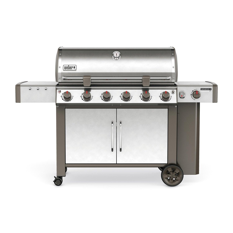 barbecue-au-gaz-weber-genesis-2-s640-6-bruleurs-inox Frais De Leroy Merlin Anglet Concept