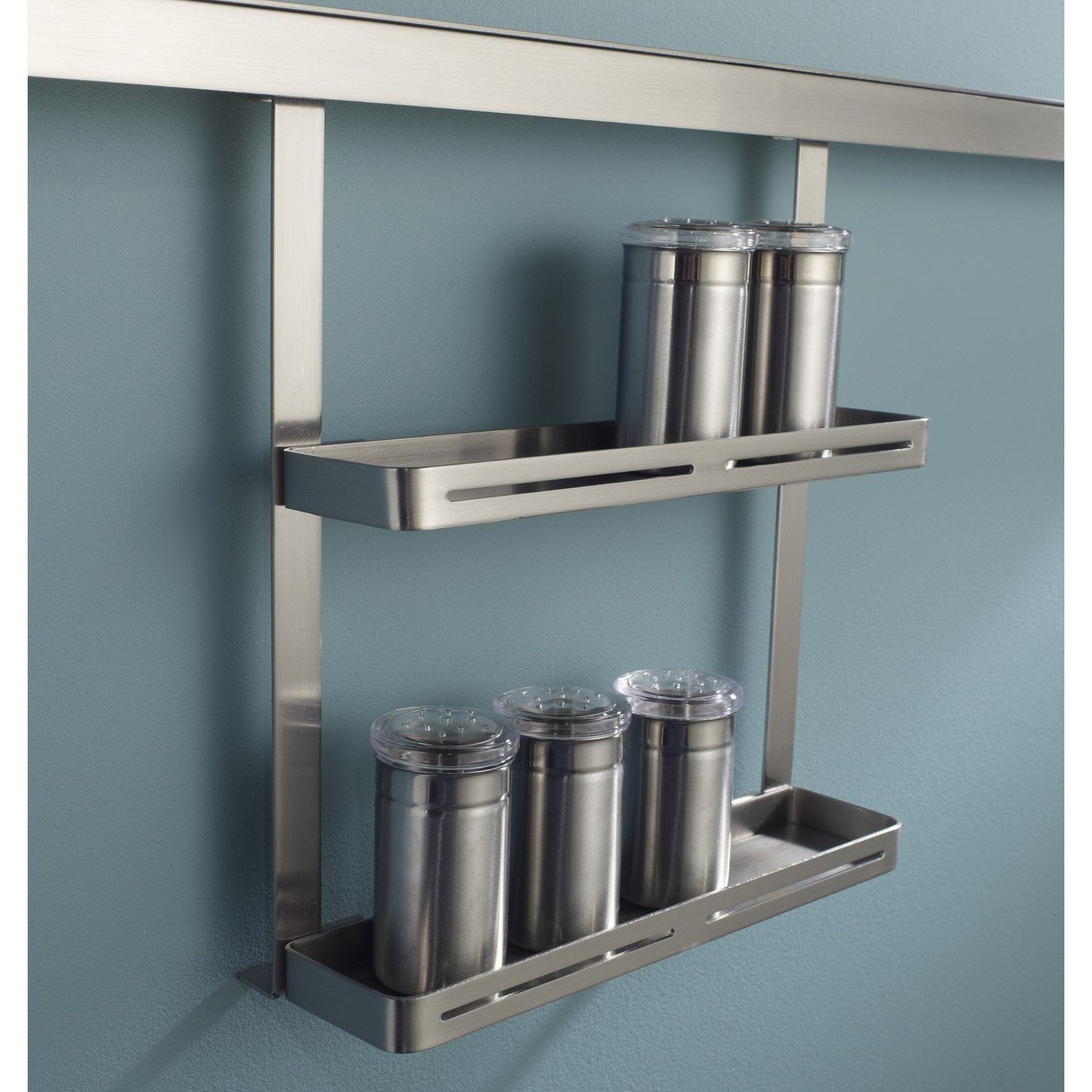 Etag re pices pour barre de cr dence m tal leroy merlin - Etagere metal leroy merlin ...