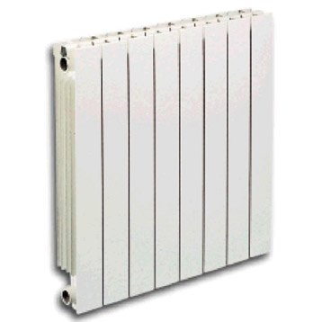 Radiateur chauffage central aluminium vip 10 l ments 1810w leroy merlin - Radiateur en aluminium pour chauffage central ...