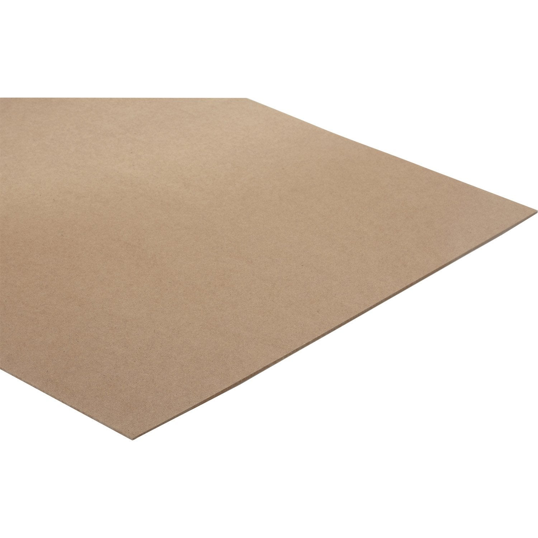 panneau fibres dures blanc ep 3 2 mm x x cm leroy merlin. Black Bedroom Furniture Sets. Home Design Ideas