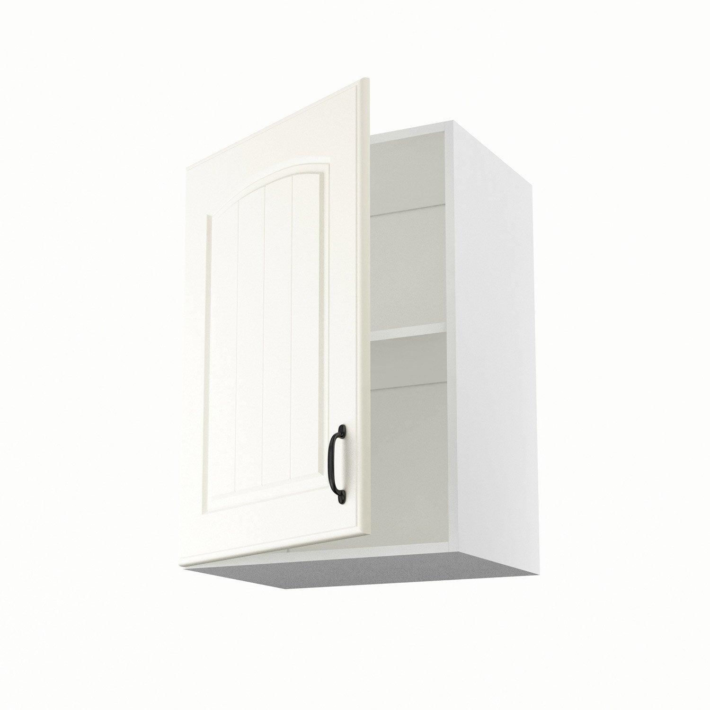 Meuble de cuisine haut chanvre 1 porte ol ron h70xl50xp35 for Porte placard 50 cm