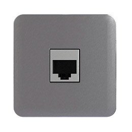 cache prise rj45 prise double chargeur usb cosy lexman aluminium leroy merlin. Black Bedroom Furniture Sets. Home Design Ideas