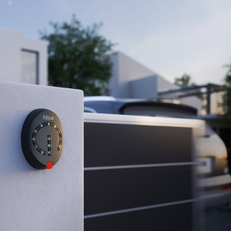 clavier code radio 13 touches pour tout type de motorisation nice home ds100 leroy merlin. Black Bedroom Furniture Sets. Home Design Ideas