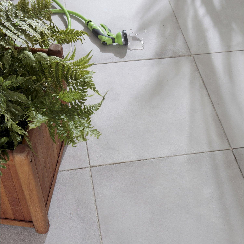 dalle pierre reconstitu e oc ane gris x cm x. Black Bedroom Furniture Sets. Home Design Ideas