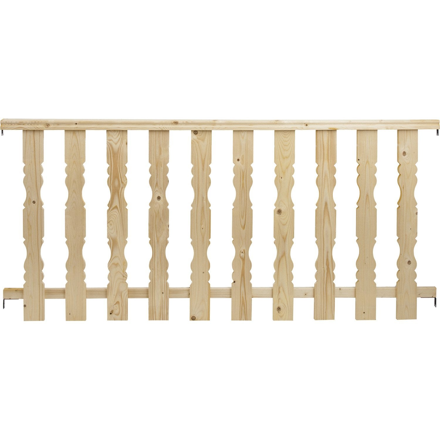 Pack balustre classic 2m leroy merlin for Balustres bois exterieur