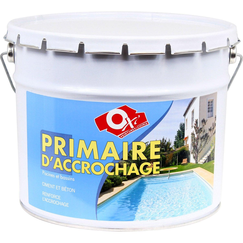 primaire piscine et bassin ext rieur oxytol gris 10 l. Black Bedroom Furniture Sets. Home Design Ideas