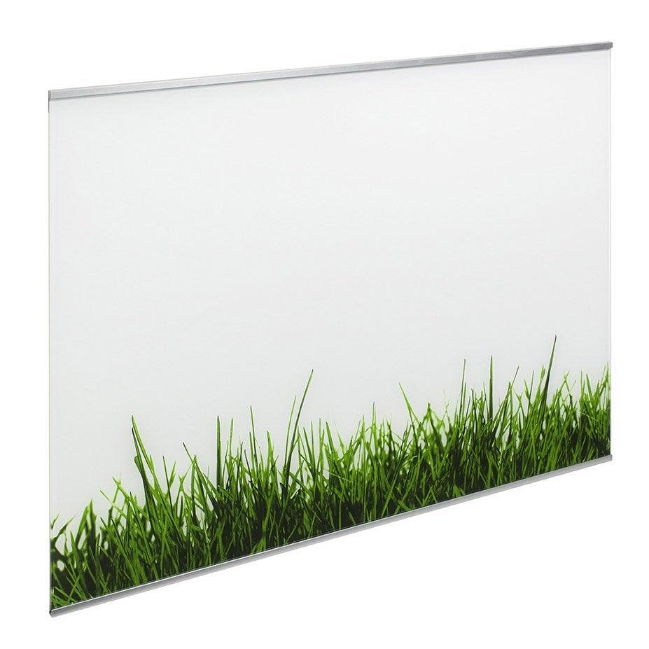 Fond de hotte verre delinia d cor gazon x cm - Fond de hotte verre lapeyre ...