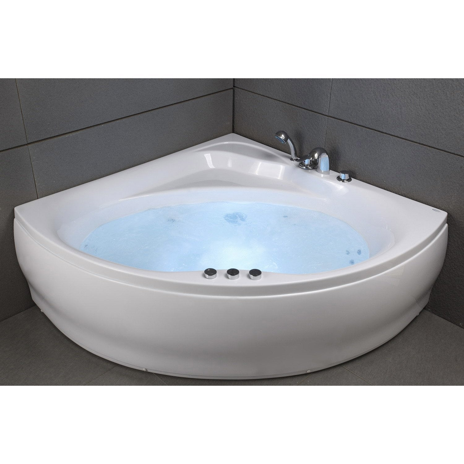 baignoire jacuzzi awesome baignoire balno dmaunaloa jets with baignoire jacuzzi fabulous spa. Black Bedroom Furniture Sets. Home Design Ideas
