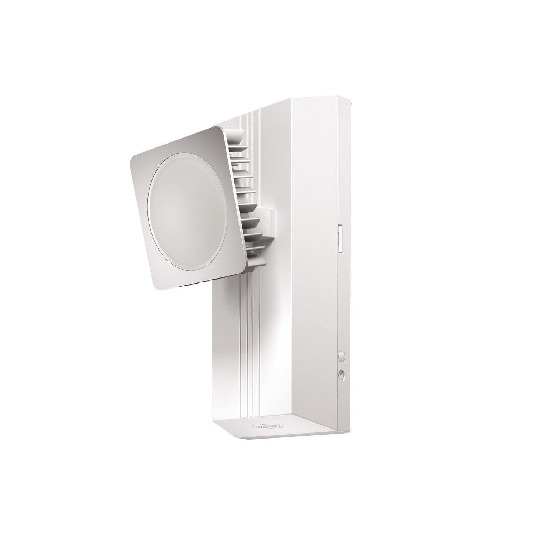 applique d tection ext rieure noxlite led int gr e blanc. Black Bedroom Furniture Sets. Home Design Ideas