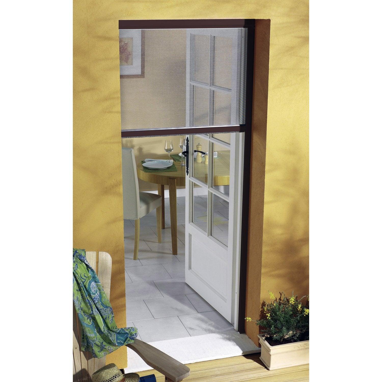Moustiquaire pour porte fen tre enroulement vertical - Leroy merlin jardin vertical besancon ...