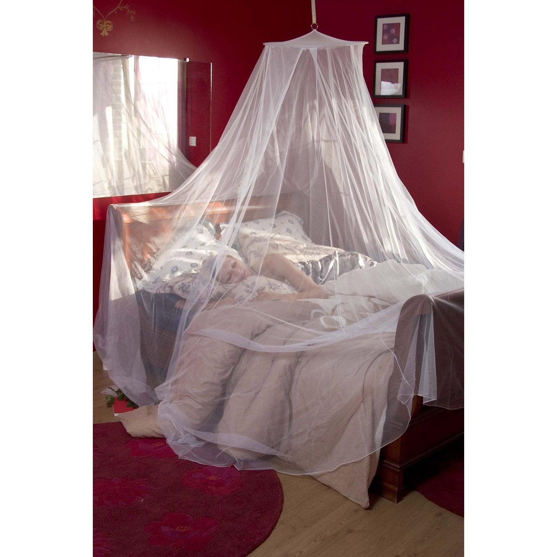 Moustiquaire ciel de lit moskitop 250x850 cm leroy merlin - Ciel de lit moustiquaire ...
