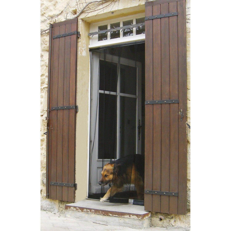 Moustiquaire pour porte rideau kocoon x cm for Moustiquaire rideau pour porte fenetre
